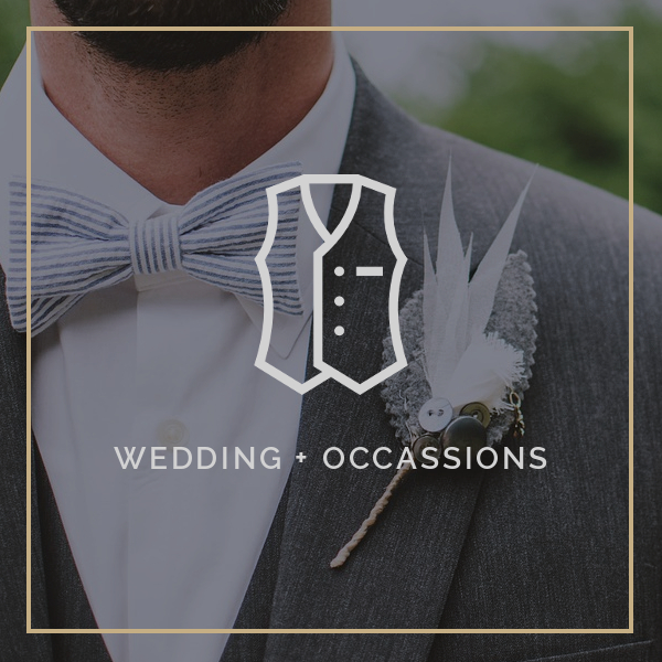 Wedding + Special Occassions